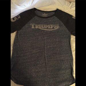 Woman's size large lucky brand Triumph shirt